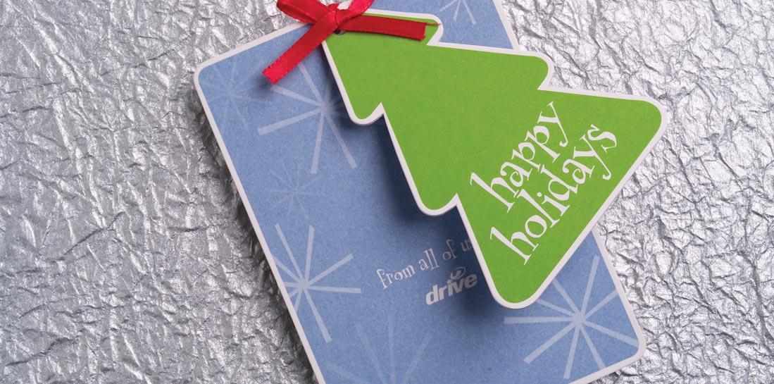 Drive Christmas Card